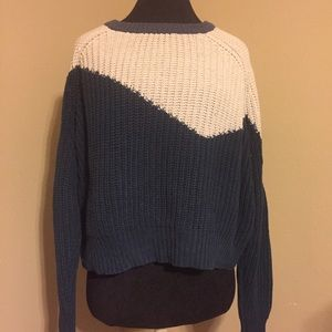 Urban Outfitters Cooperative Colorblock Sweater